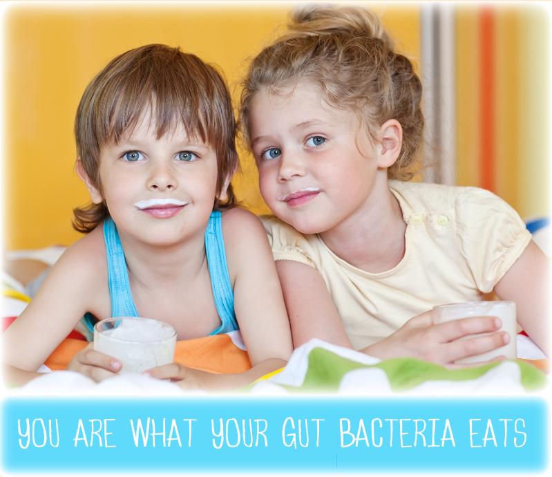 gut bacteria raw milk