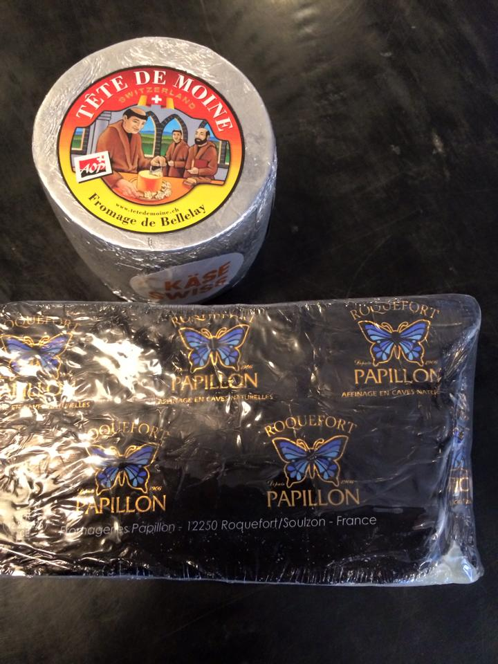 Image:   these French raw milk cheeses were served at ARMM's  Panel Discussion  event a few years ago. They are for sale at many specialty cheese stores around Australia and are very popular.