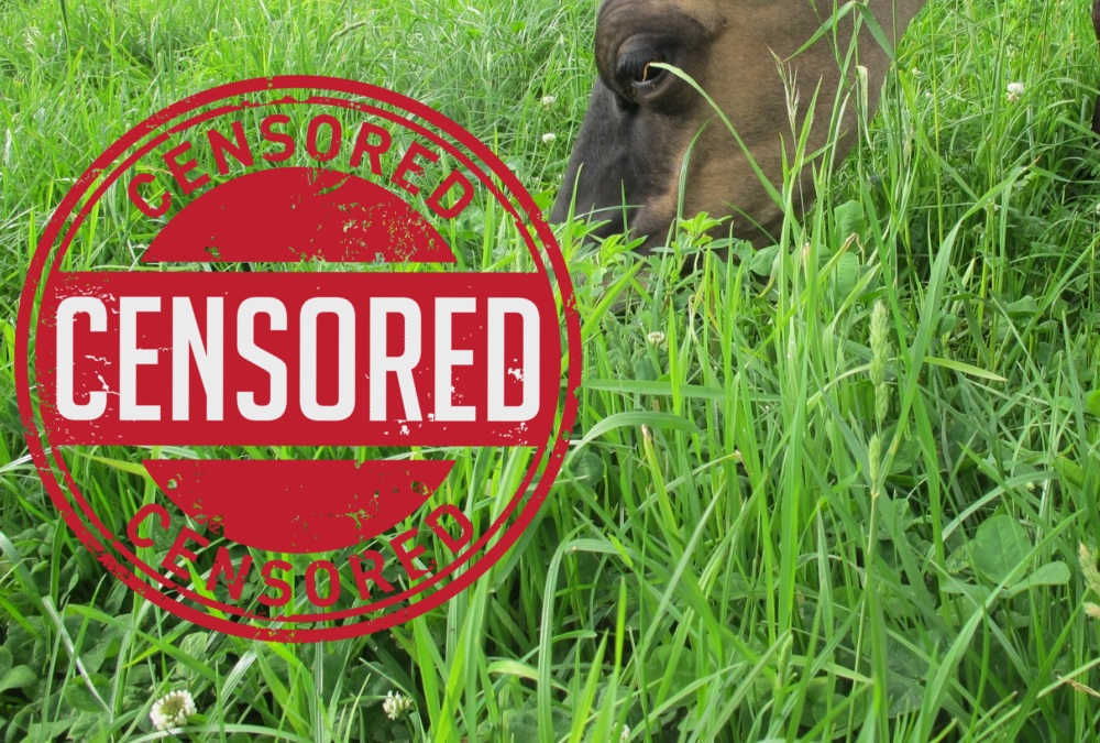 regenerative agriculture and raw milk censored