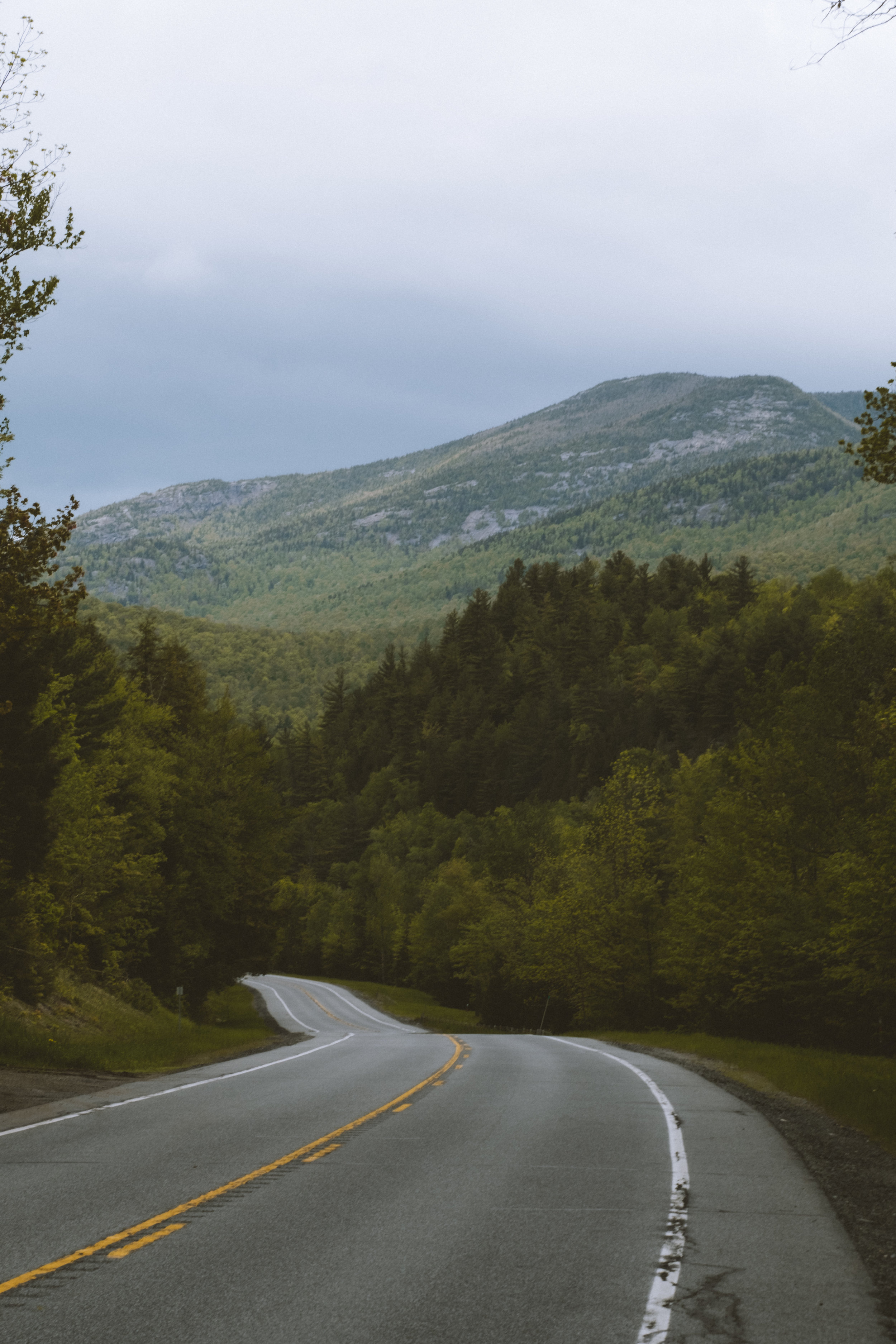 Route 73 in Keene Valley, NY