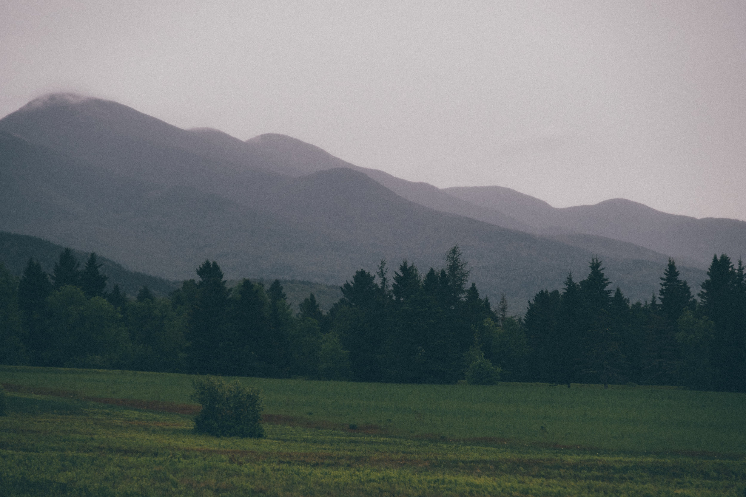 High Peaks surrounding the Plains of Abraham