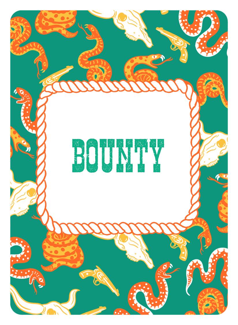Bounty Card Back