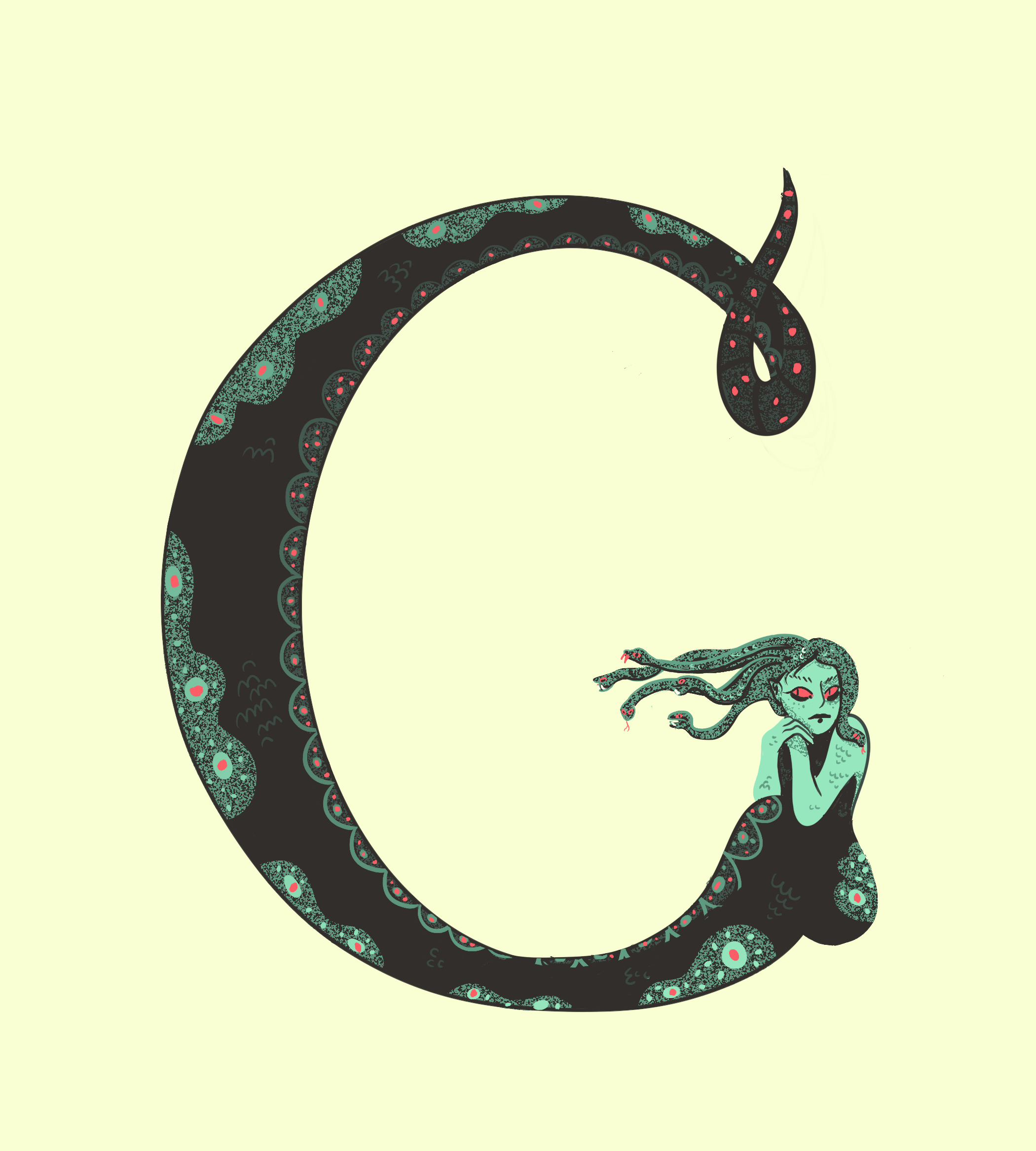 G is for Gorgon