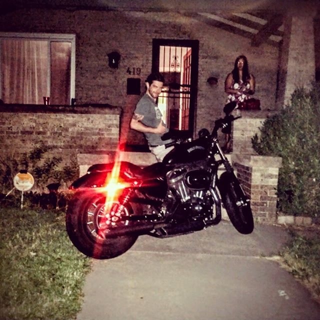 Friday night friends! @tonygoffredi #summer #motorcycle #lfl #love #more #cool #friends #ride @timk518