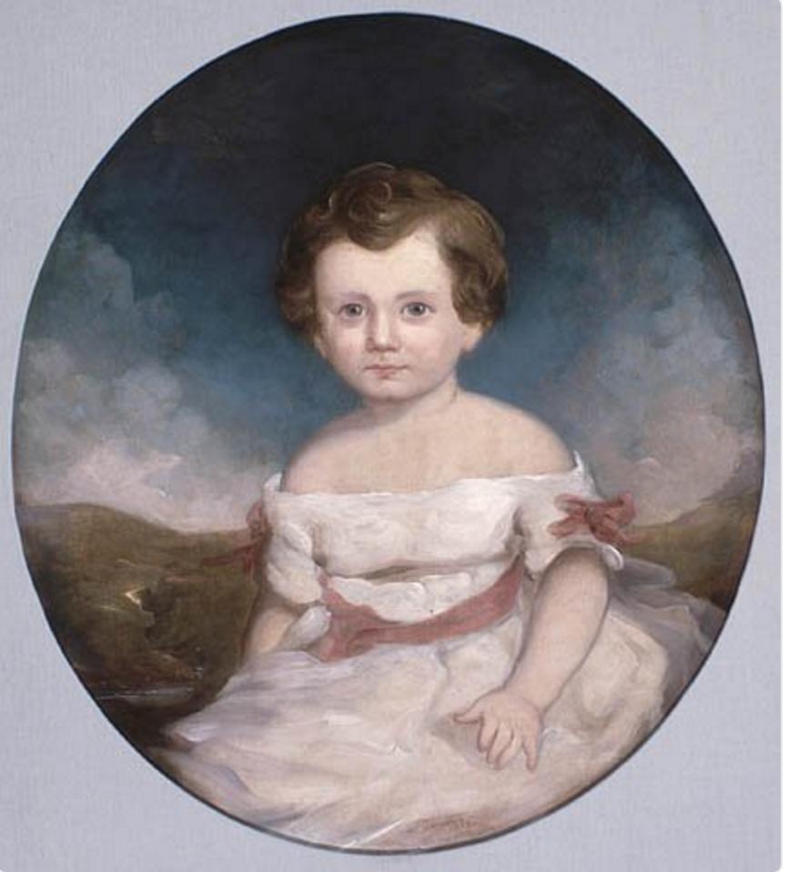 Portrait of Hugh John Macdonald, 1852./ Library and Archives Canada, Acc. No. 1960-123-4
