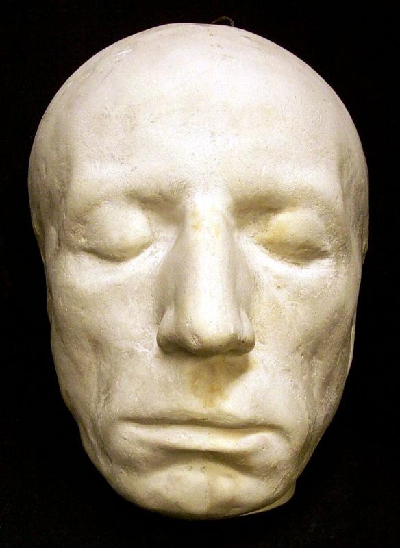 William Wordsworth's death mask