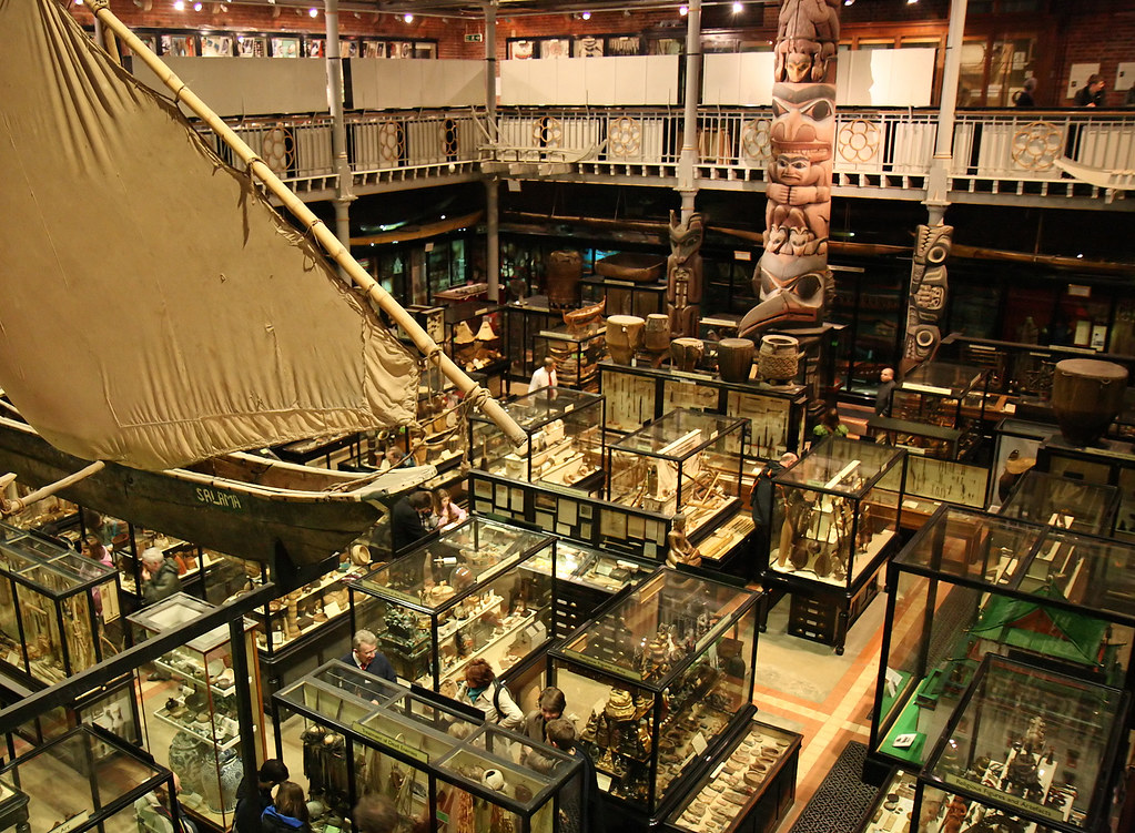 Pitt rivers Museum, Oxford  Photographer: Danny Chapman, Flickr