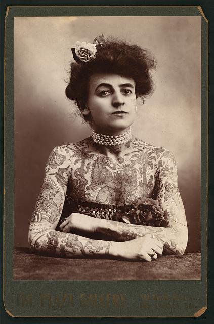 Maud Wagner circa 1907