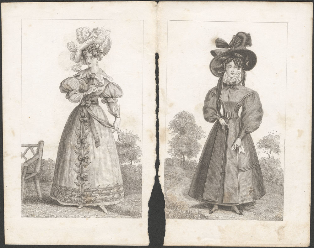 Fashion plates (Library and Archives Canada)