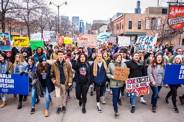 Thousands of people marched at Union Park on Saturday to put an end to gun violence @marchforourlives - Shot for @timeoutchicago . . . . . #marchforourlives #protest #chigram #chicago #banguns #thisiswhatdemocracylookslike #timeoutchicago #natgeo #streetphotography #eventphotographer #nikon #nikonartists #sigma #landscape #citylife