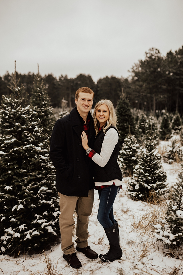 Hailey & Dan Hansens Tree Farm Engagement Session in Anoka, MN_0086.jpg