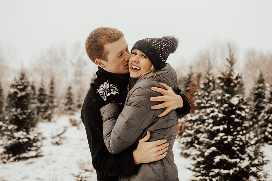 Hailey & Dan Hansens Tree Farm Engagement Session in Anoka, MN_0093.jpg