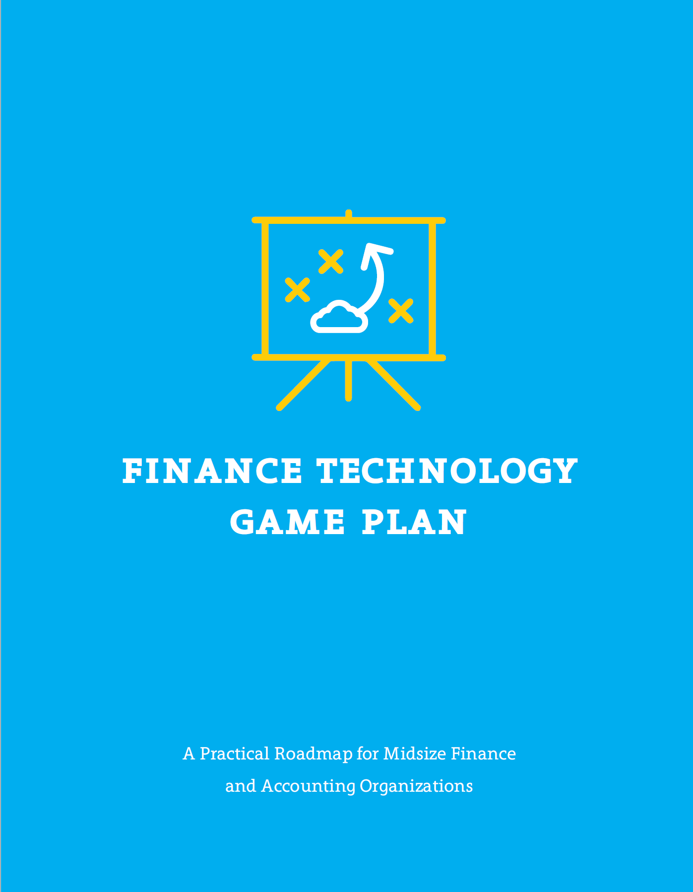 Prescriptive finance technology blueprint piece