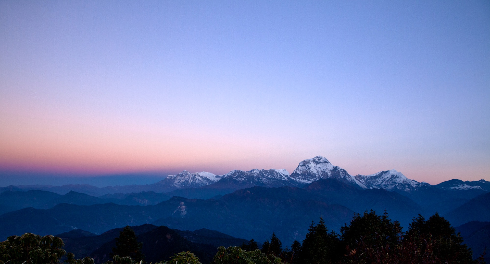 Nov 9.1, 2016   An hour skywards landed boots at Poon Hill, a panoramic glimpse of the southeastern Himalaya. Dhaulagiri is the most prominent from this view with one of the largest mountain faces on the planet. Over it's 8,167 metre peak is the Tibetan Plateau—the Roof of the World—a sweeping flat land mass the size of Alaska and Texas combined.