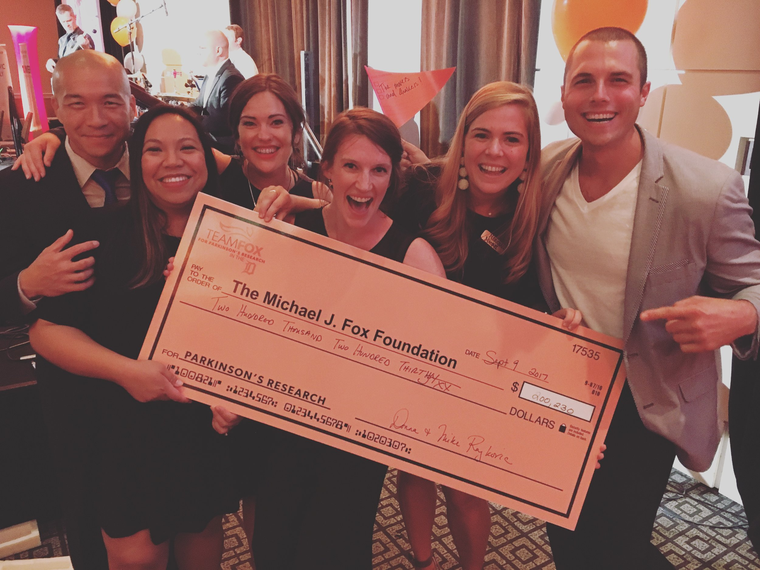 Michael J. Fox Foundation Fundraiser