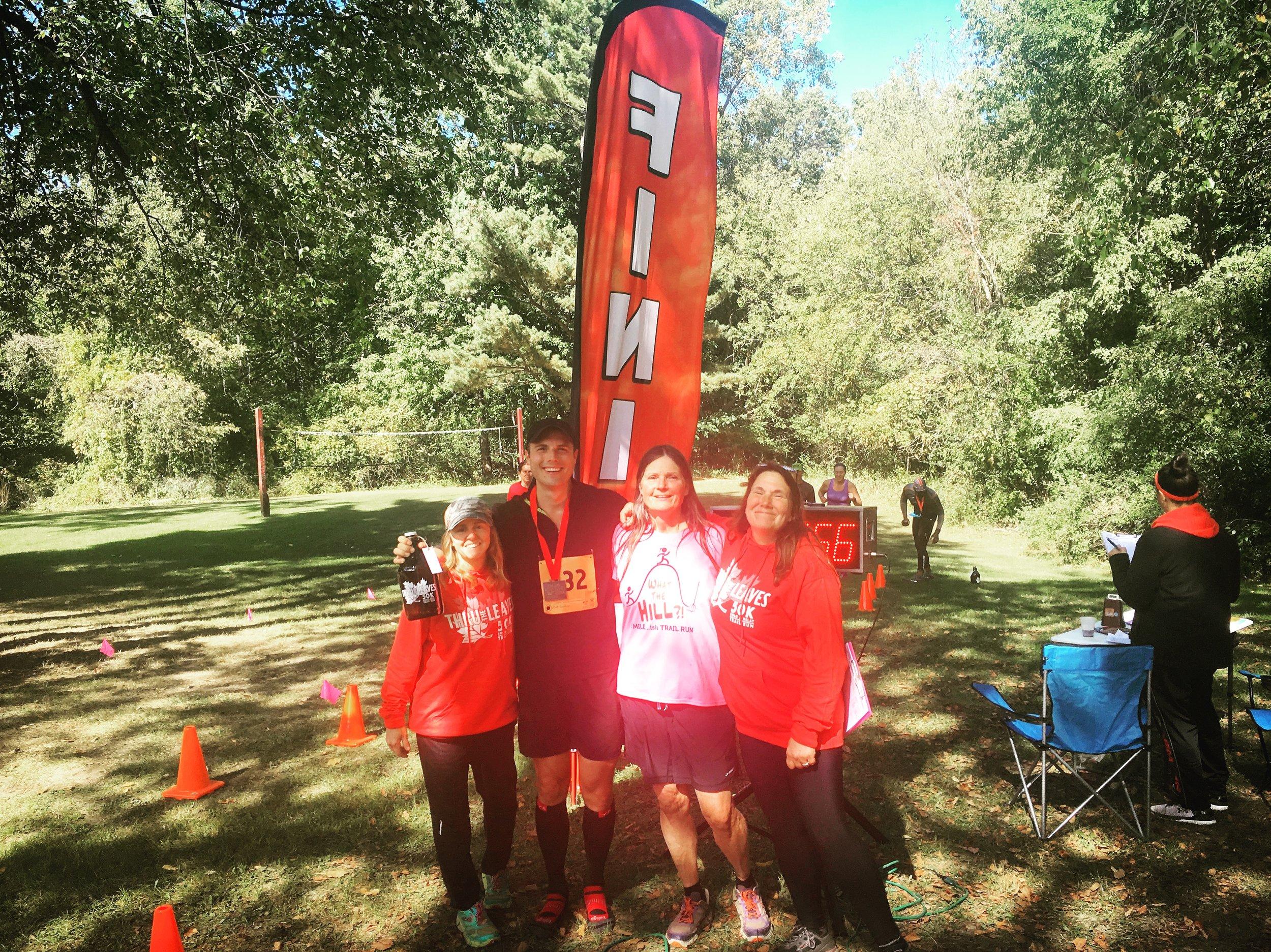 Thru the Leaves Ultra 50k Trail Race