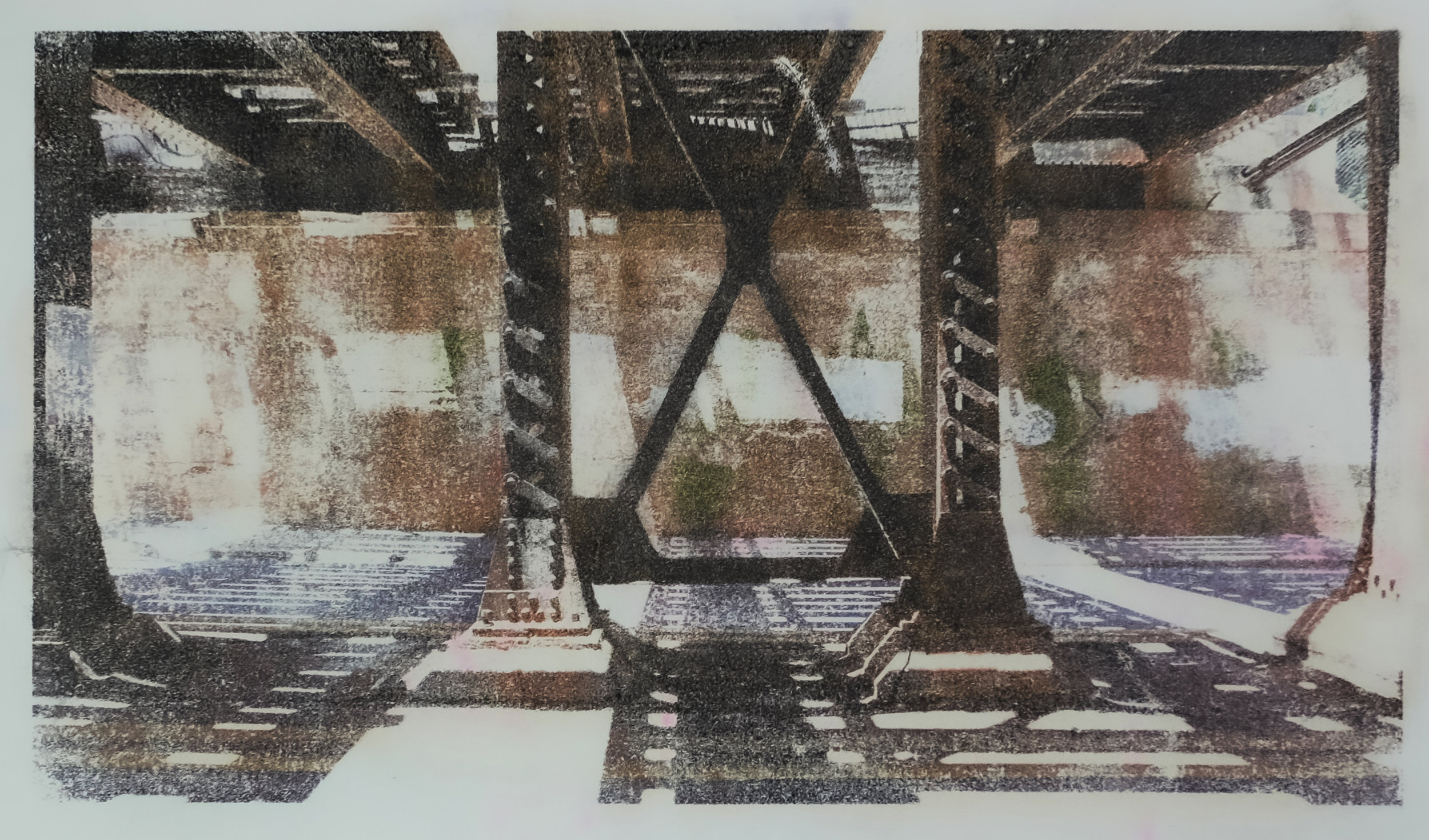 X Bridge, Greensboro (2016)