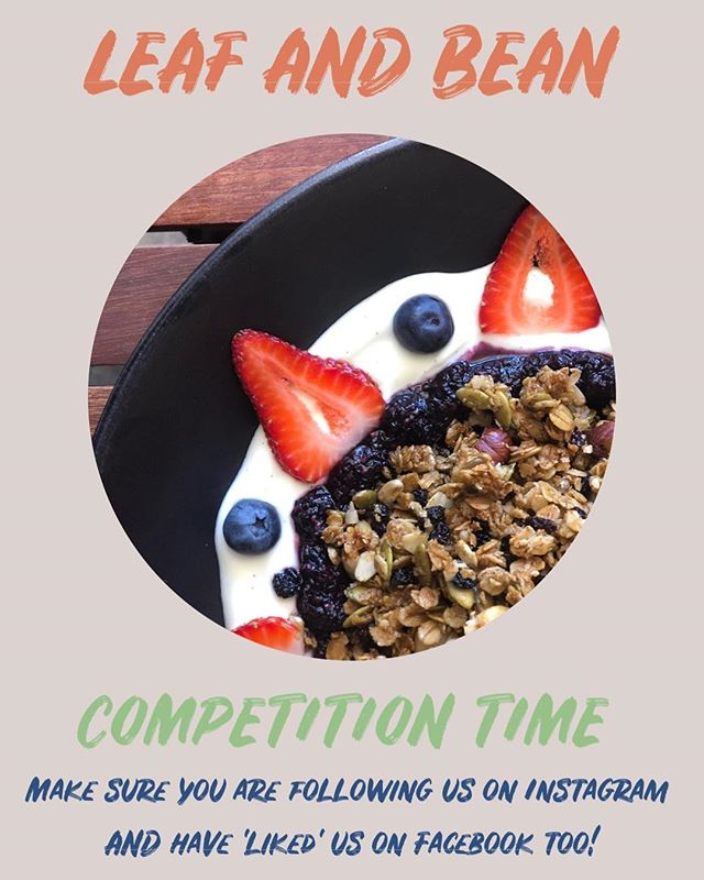 ✖️Competition Time ✖️ ✖️WIN A BRUNCH FOR TWO ON US✖️ Here at Leaf and Bean, we are super excited to bring you an exciting new competition we will be running every week! Super easy to enter and the prize is ridiculously delicious!! All you have to do is tag your bestie who you would love to have brunch with and make sure you are following us!! You can enter as many times as you like and tag as many friends as you like - the more the merrier! One comment = one tag = one entry!  Winner will be drawn Sunday 3rd March ✨ The winner will be private messaged with all the details once the comp has been drawn ✨ So get following and get tagging!!!! GOODLUCK BABIES!!!!! . . . . . . . . . . . . . . #perthfoodie #leafandbeganemporium #leafandbeanperth #perthfood #mthawthorncafe #veganfoodperth #vegetarianfoodperth #goodfoodperth #perthfoodblogger #mthawthorn #mounthawthorncafe #perthcafe #perthisokay #perthfoodies #mthawthornhub #foodspecial #goodfood #perthgoodfood #supportlocal #perthisok #delicious #healthyfoodblogger #foodporn #zomato #leafbeanperth #perthcafes #perthcafedogs #perthcafeculture #childfriendlycafe #dogfriendlycafe #goodfoodperth