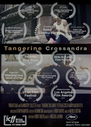 TANGERINE CROSSANDRA 2016 - PENSARE FILMSCo-producing with Robert MisovicDirected by: Kathryn McIntoshShot by: Robert Misovic