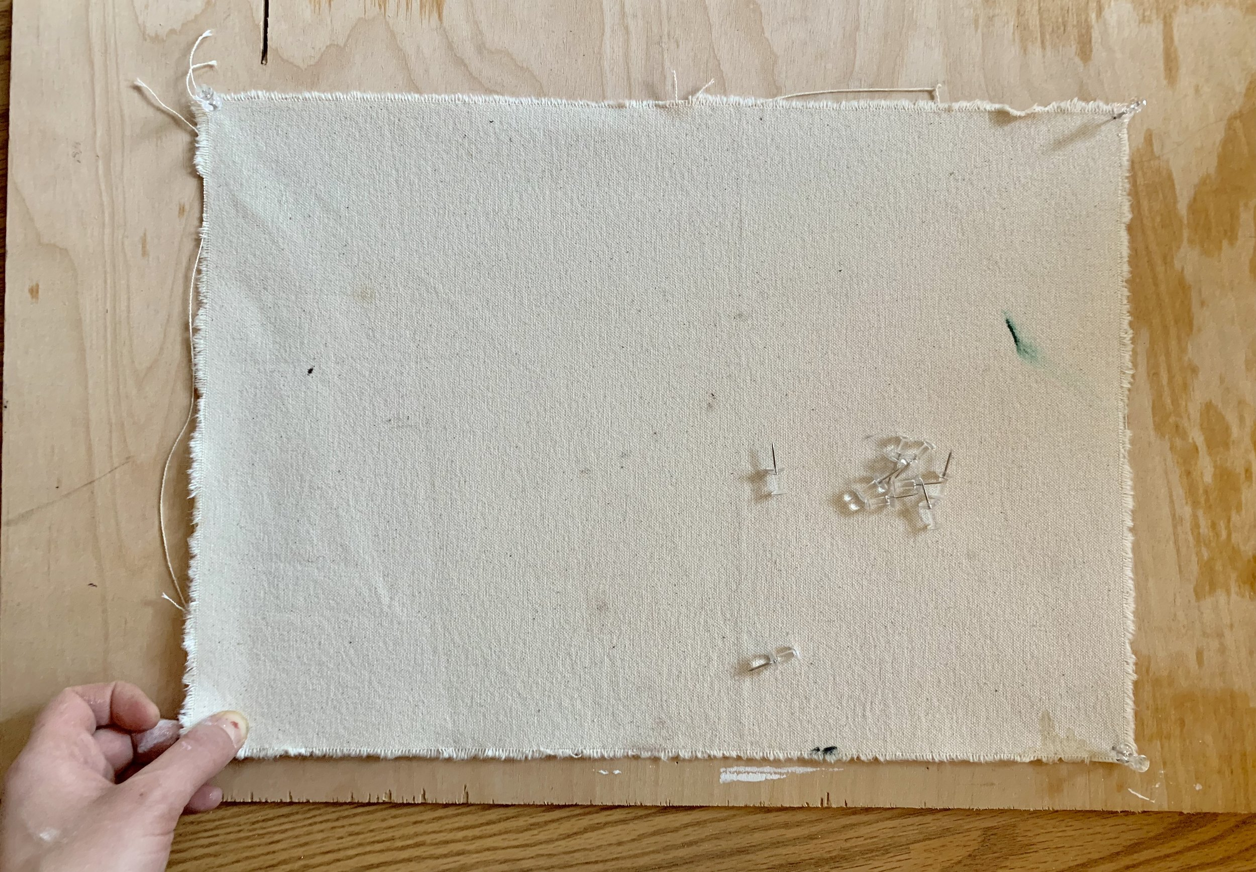 how to gesso canvas tutorial