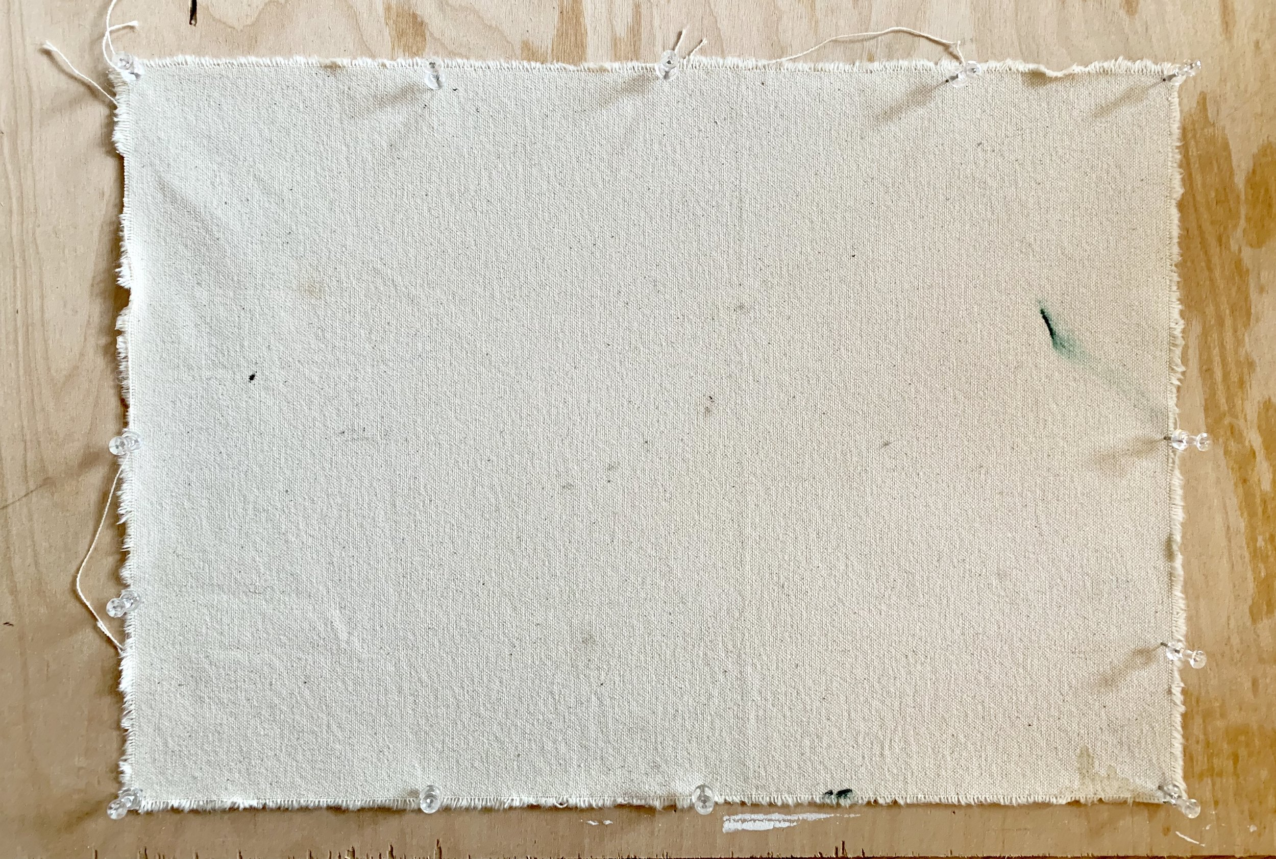 how to gesso canvas