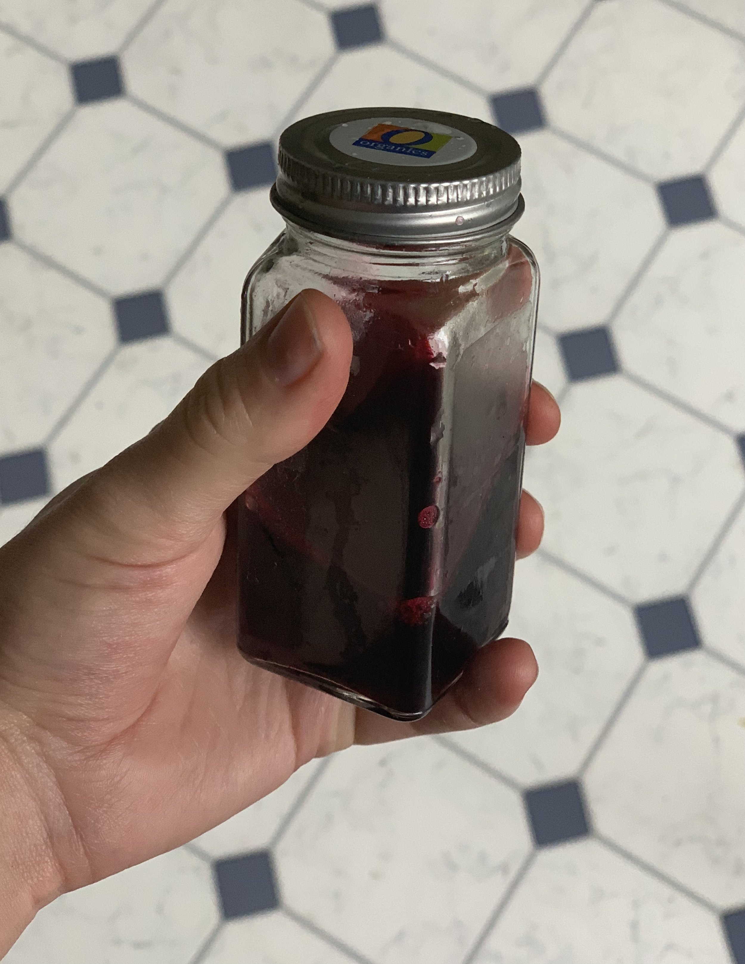 Stir well and let cool  to preserve your ink you can freeze it or add a small amount of rubbing alcohol or salt