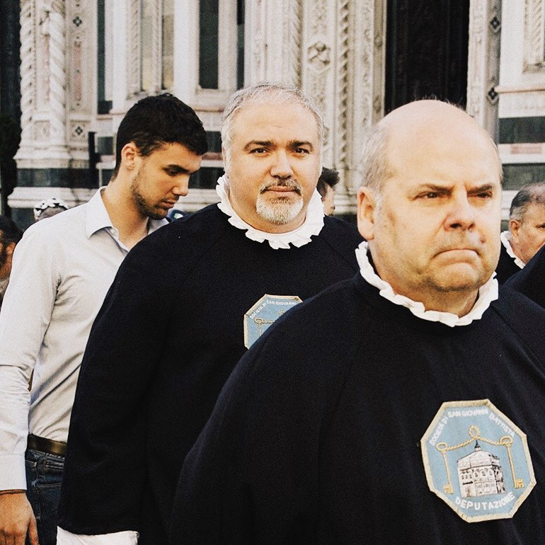 I partook in a traditional Florentine procession on the feast day of Florence's patron saint!
