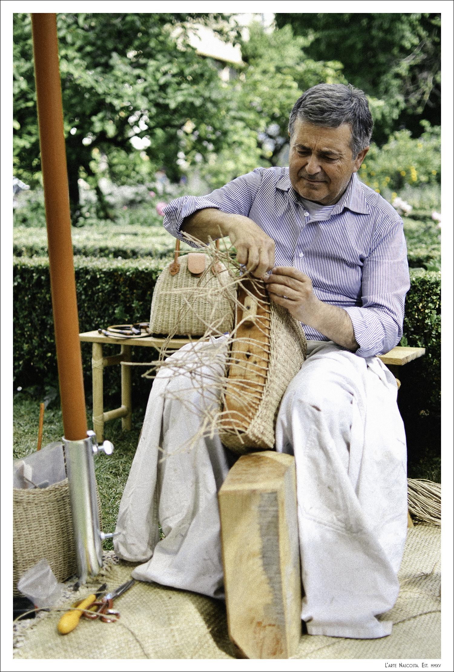 Tommaso Candria  (Mogliano, Italy)- Straw Bags