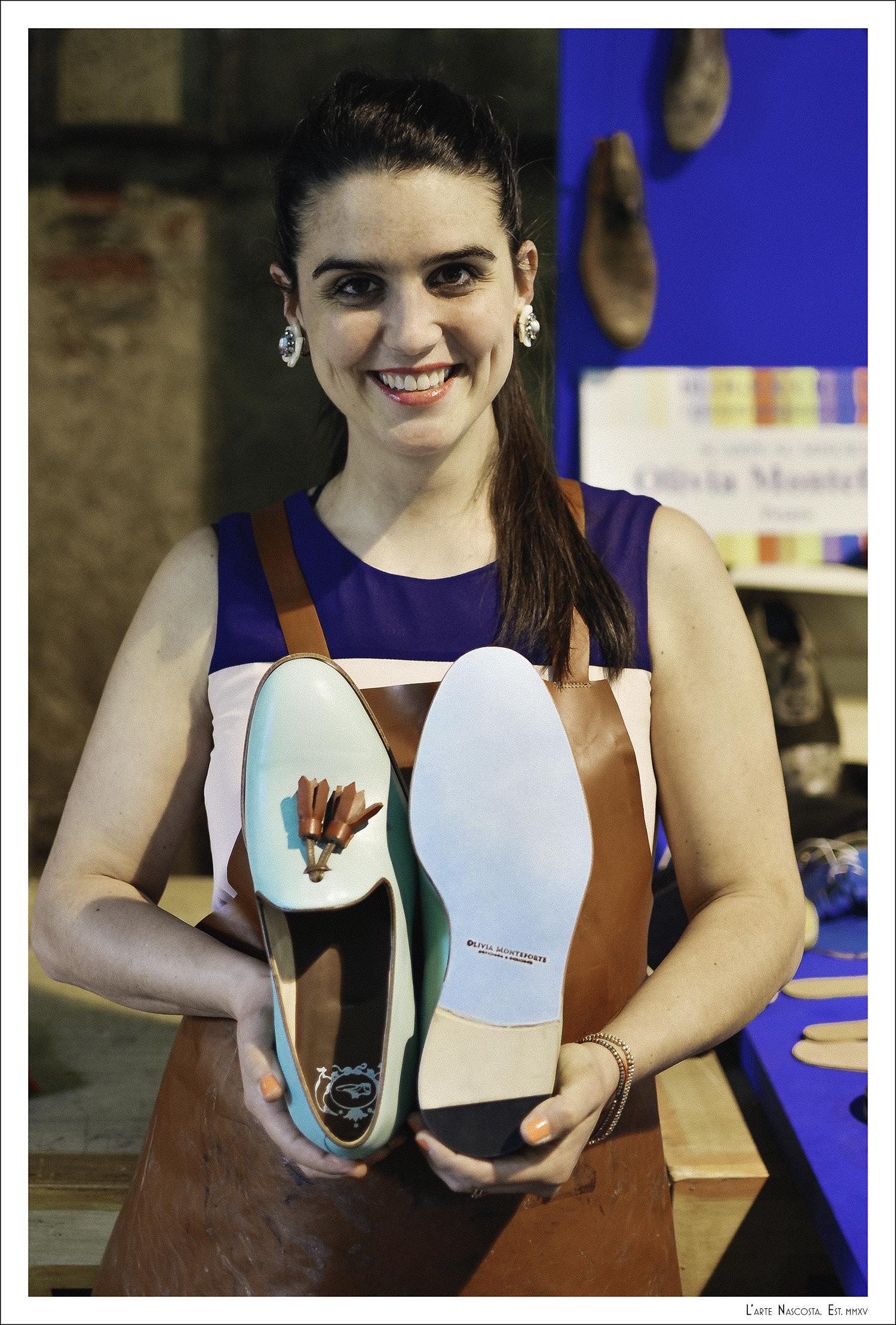 Olivia Monteforte   (Pesaro, Italy) - handmade Made-to-Measure Shoes