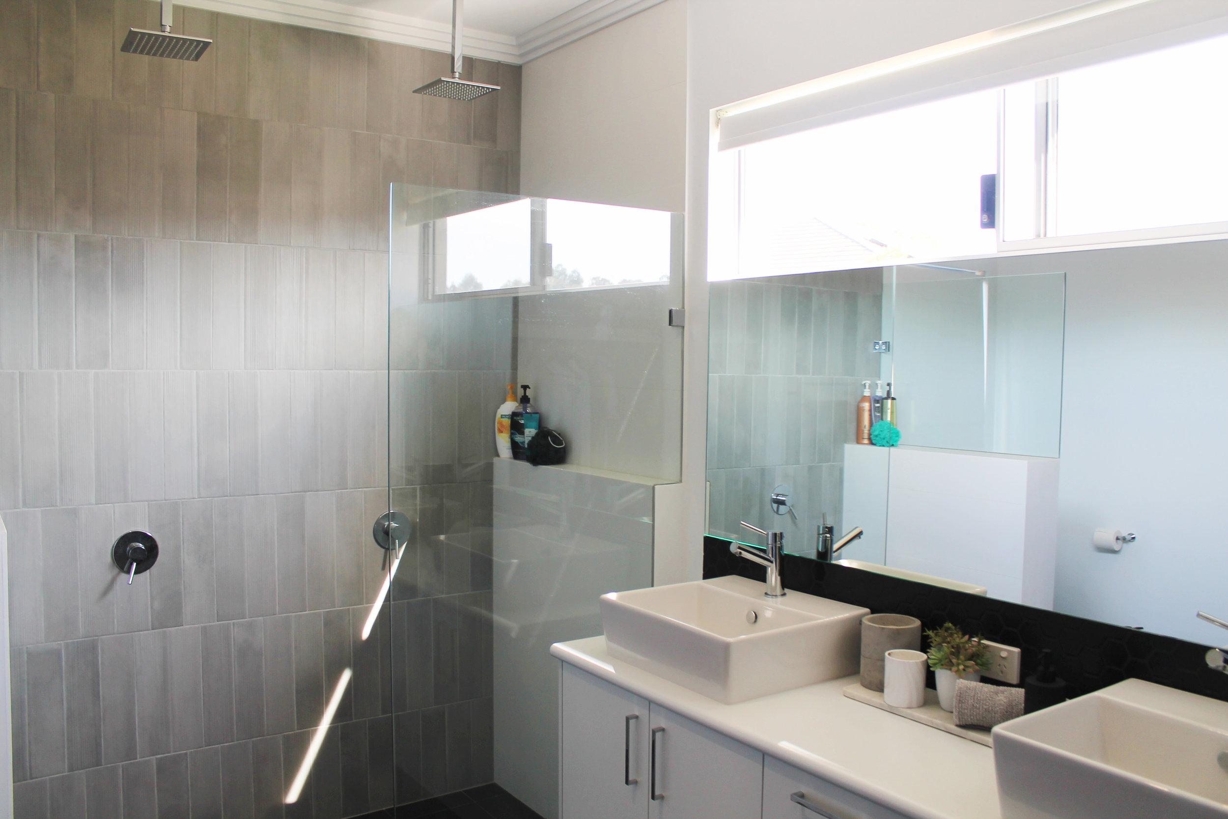 Walk In Shower - Bathroom
