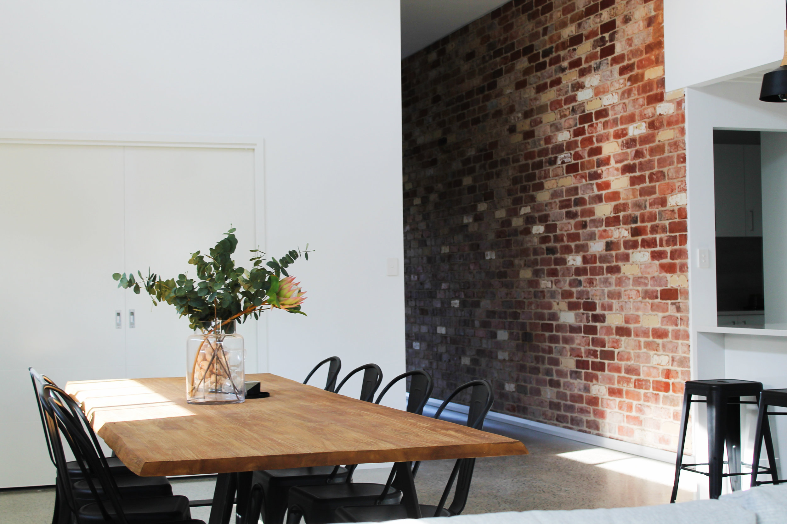 Recycled Red Brick Kitchen