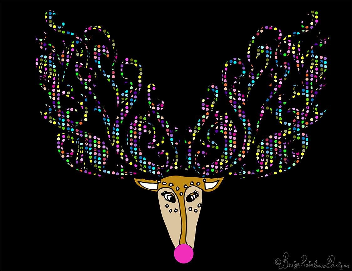 Ruby Reindeer Reigns