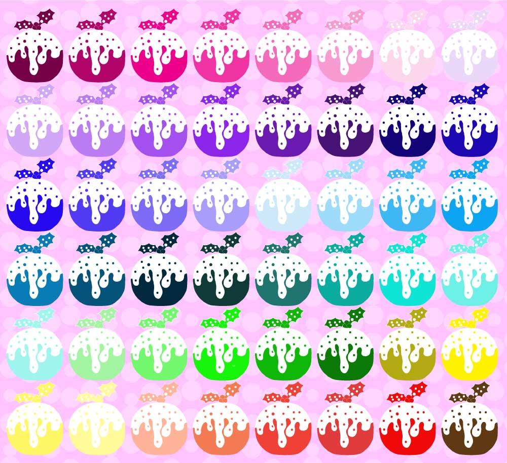 Rainbow Puds