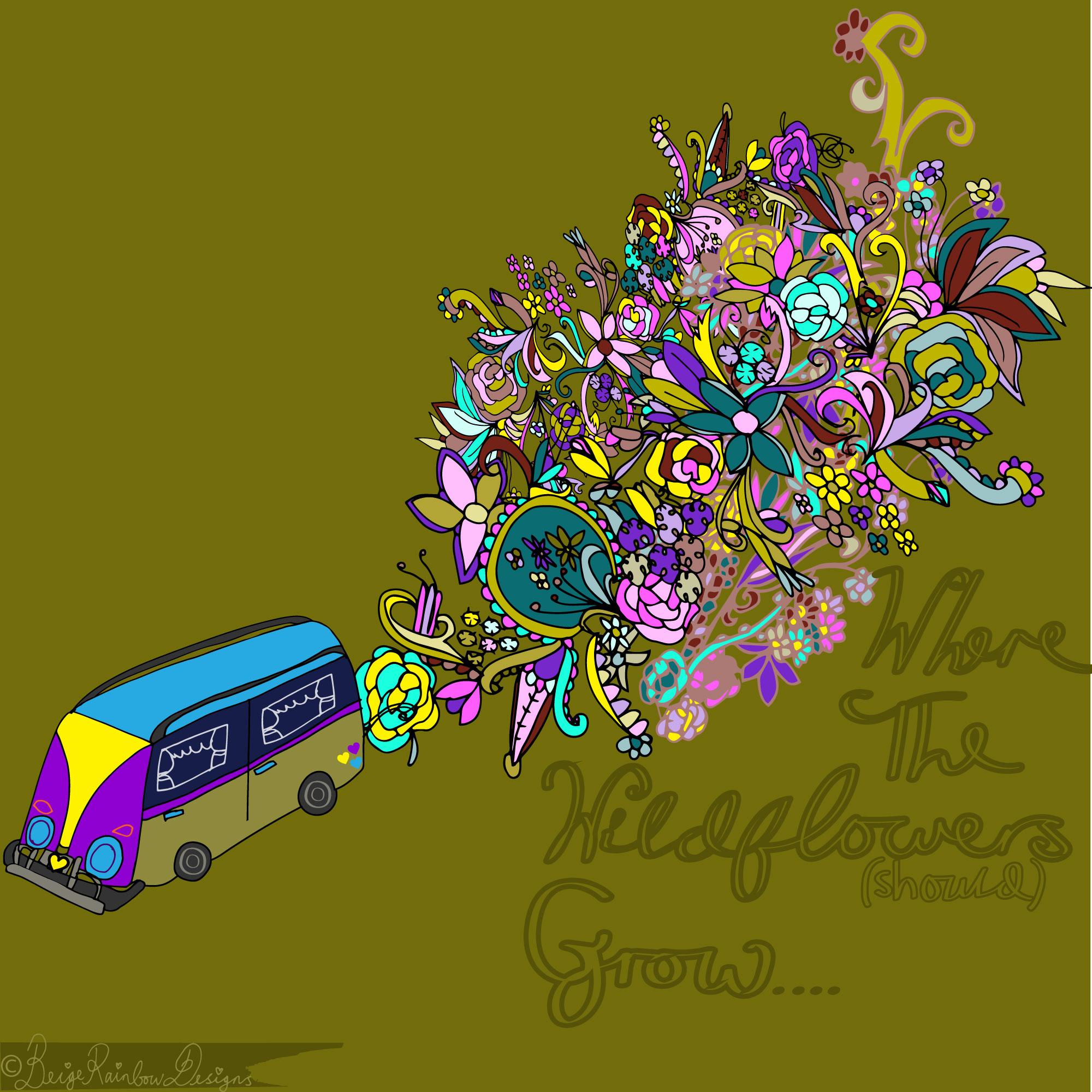 Where The Wildflowers (should) Grow - Camper Van