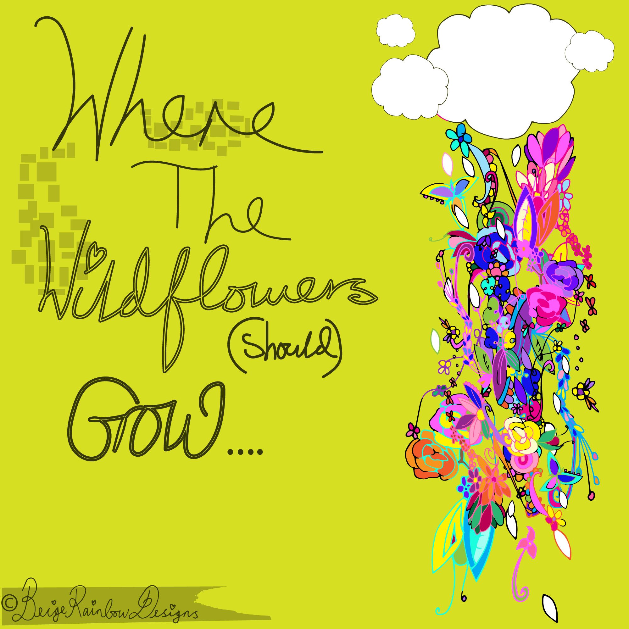 Where The Wildflowers (should) Grow - Clouds