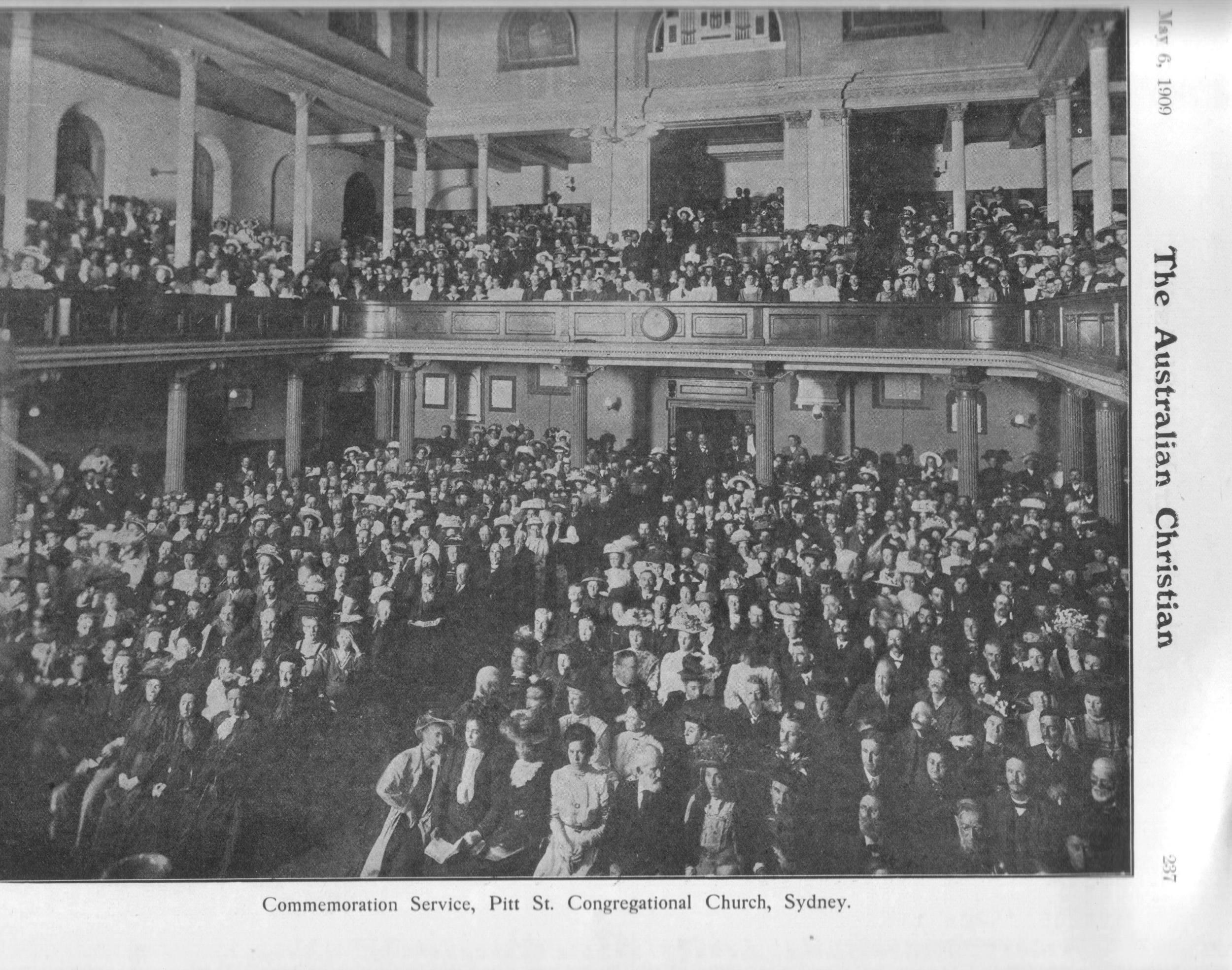 1909 congreagation