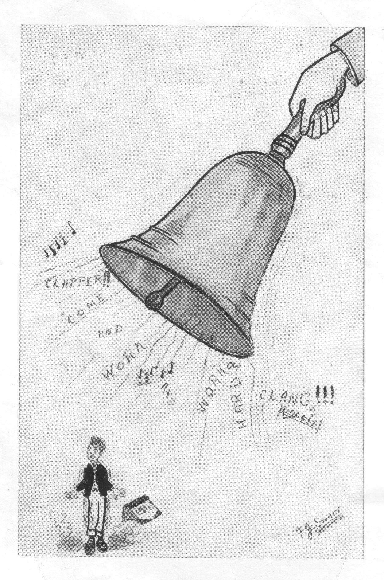 College Bell - Student Annual 1922