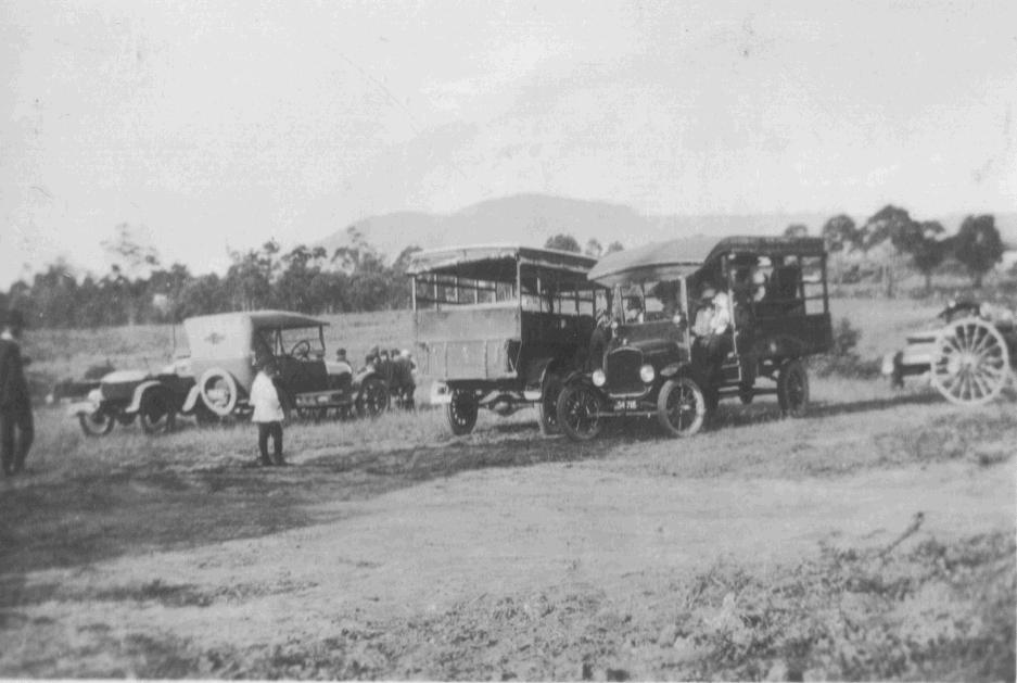 Wagons for Sunday School