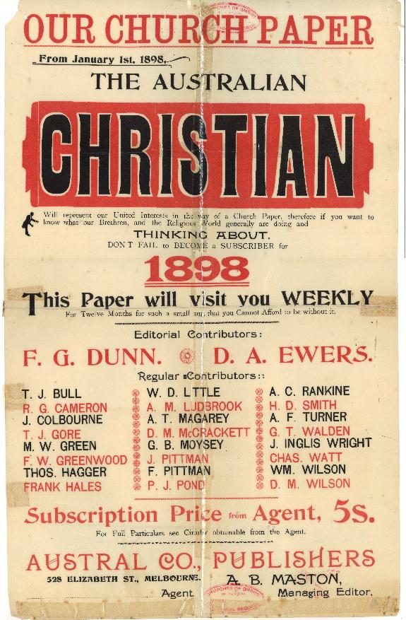 The Australian Christian
