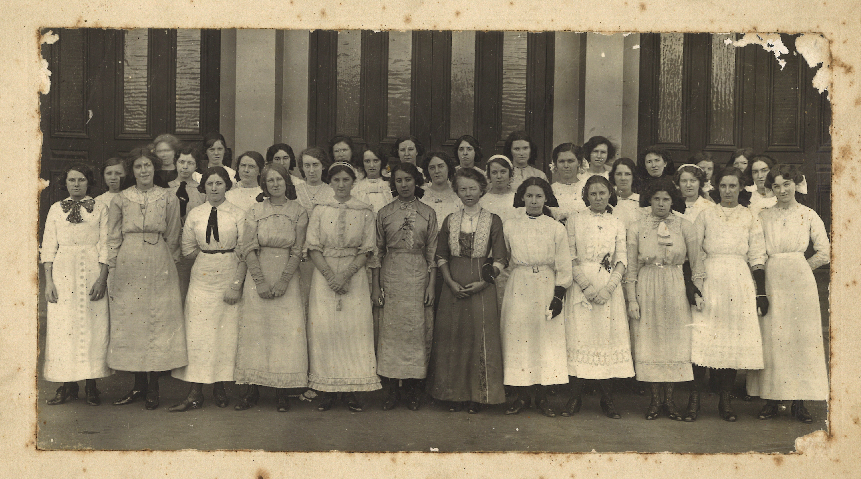 Young Ladies' Bible Class, Lygon St, Vic