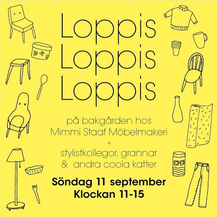 loppis 11 september