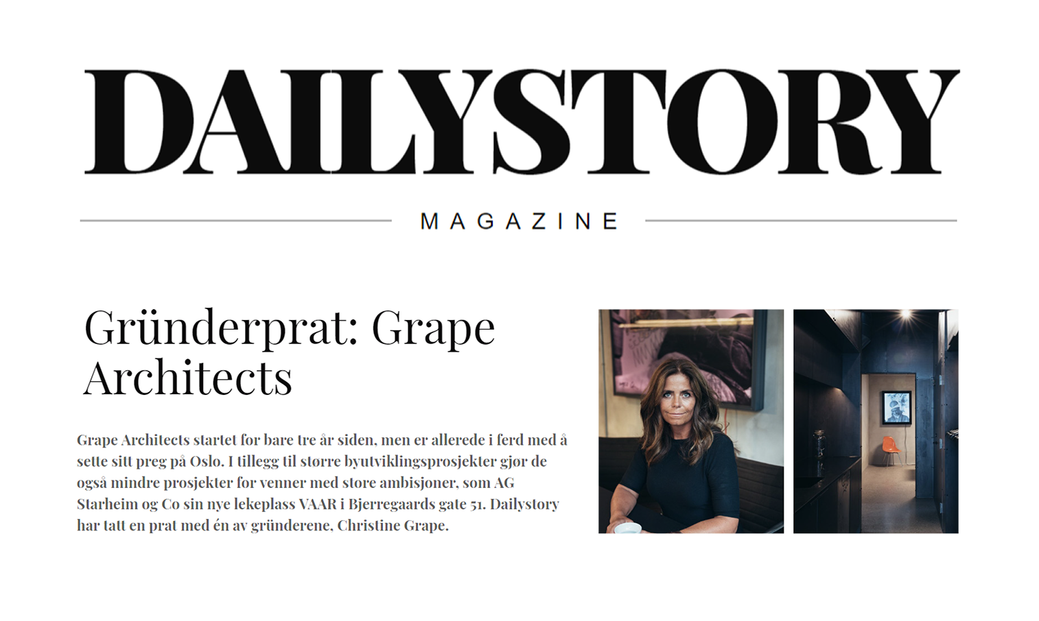 Grape i Dailystory