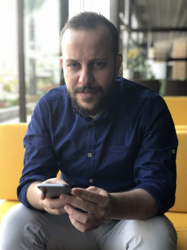 Dana Sabah, who founded Erbil Delivery in 2018