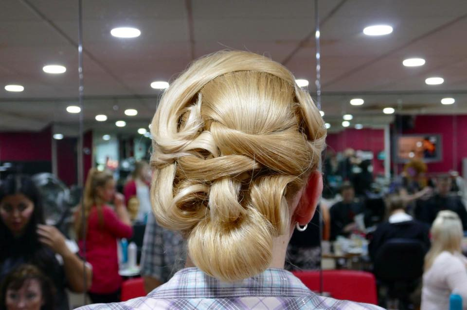 hair up for Special occasion
