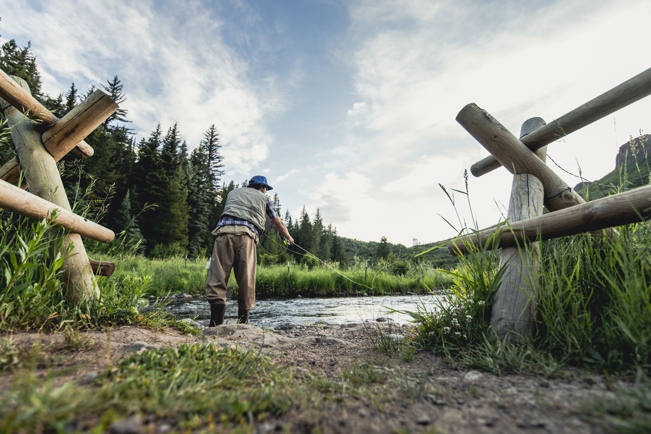 Fly Fishing off the Yampa