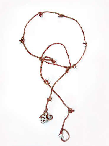 Red-Brown-Cluster-Wrap-Necklace-Bracelet-Tanvi-Kant-1.jpg