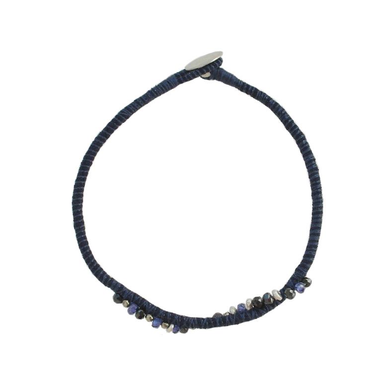 Navy-Blue-Sapphire-Silver-Cluster-Bracelet-Tanvi-Kant-1.jpg