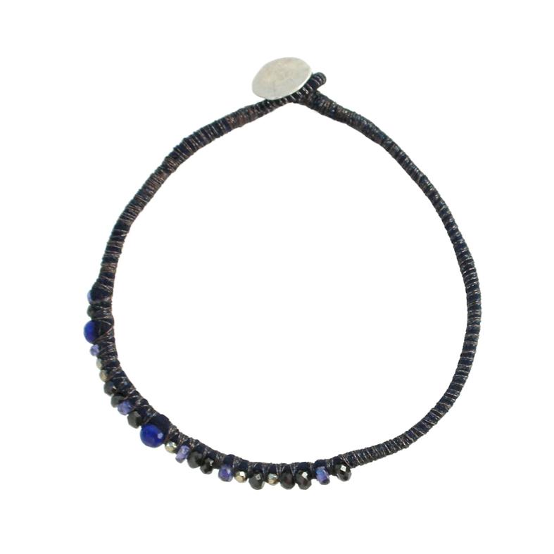 Navy-Blue-Sapphire-Silver-Cluster-Bracelet-Tanvi-Kant-2.jpg