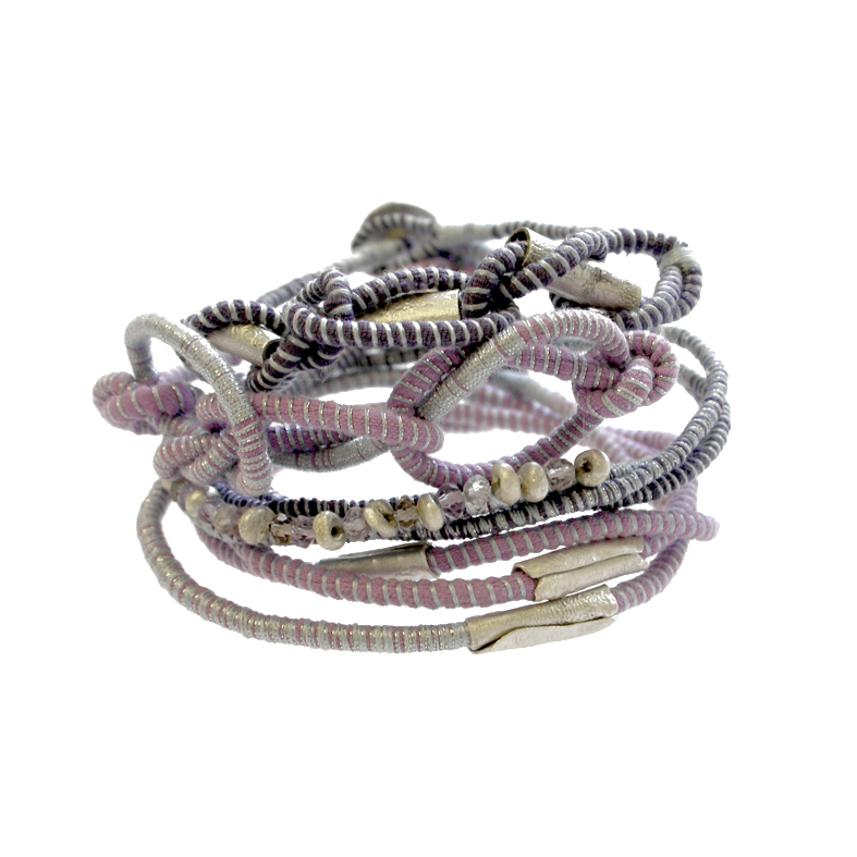 Tanvi Kant purple and silver bracelet stack.jpg