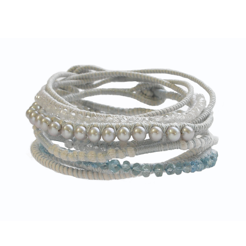Tanvi Kant White and Blue Bracelet stack.jpg